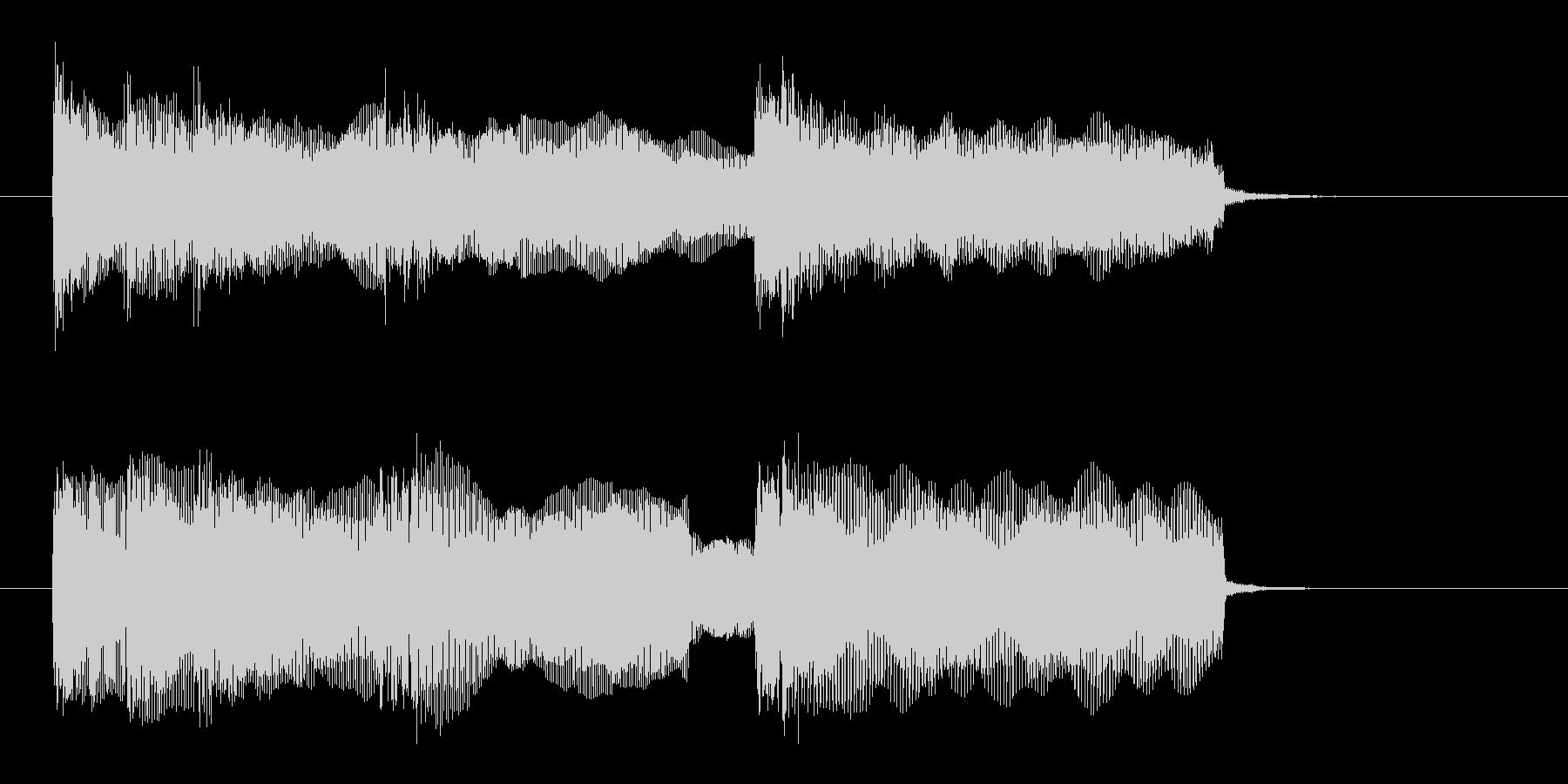 ドキドキ感と迫力のギターサウンド(短め)の未再生の波形