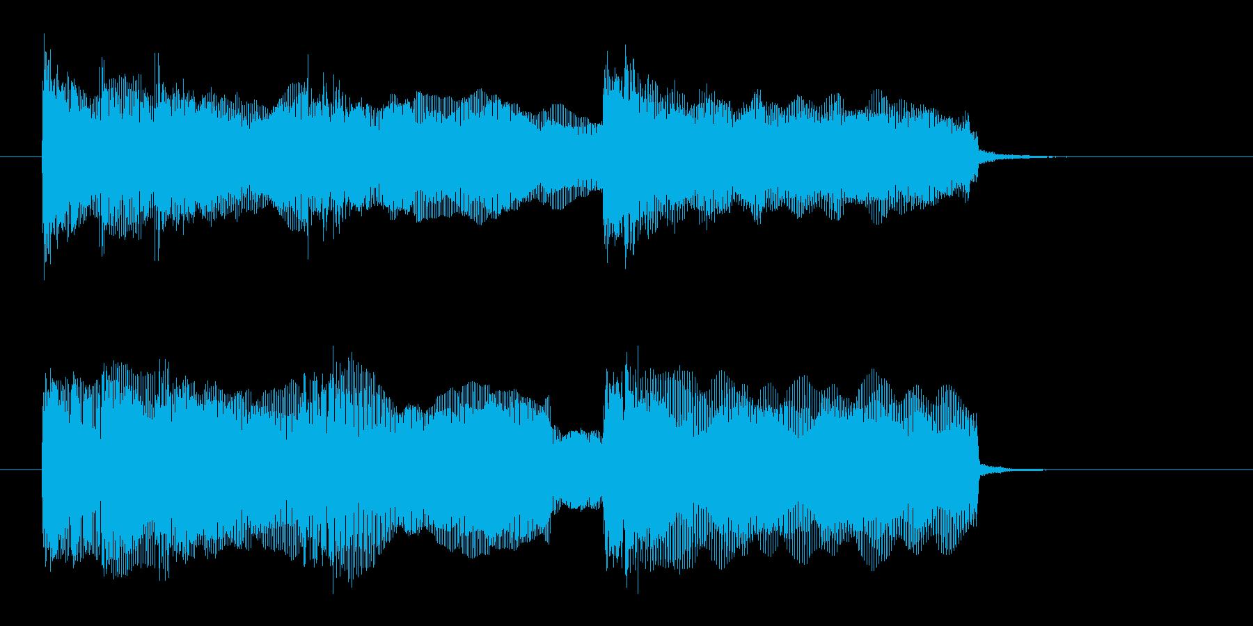 ドキドキ感と迫力のギターサウンド(短め)の再生済みの波形