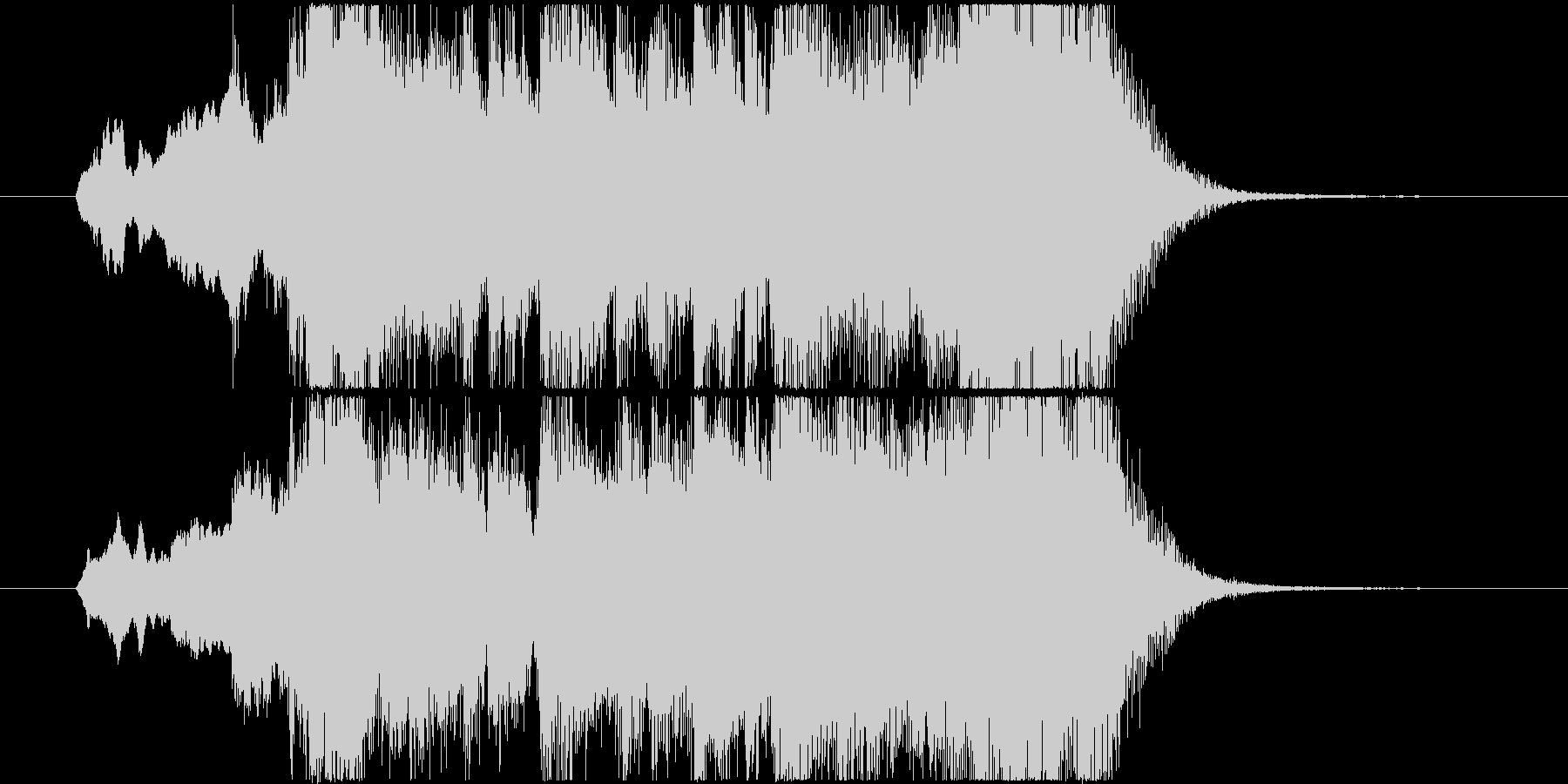 イベントオープニングジングル 2の未再生の波形