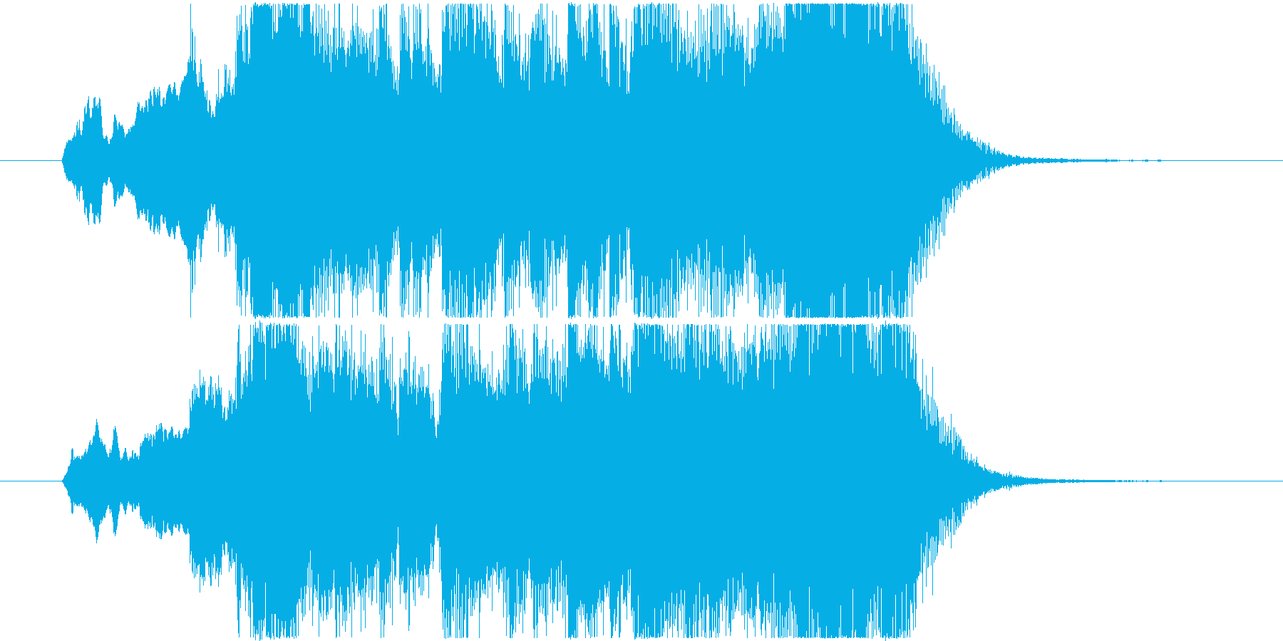 イベントオープニングジングル 2の再生済みの波形