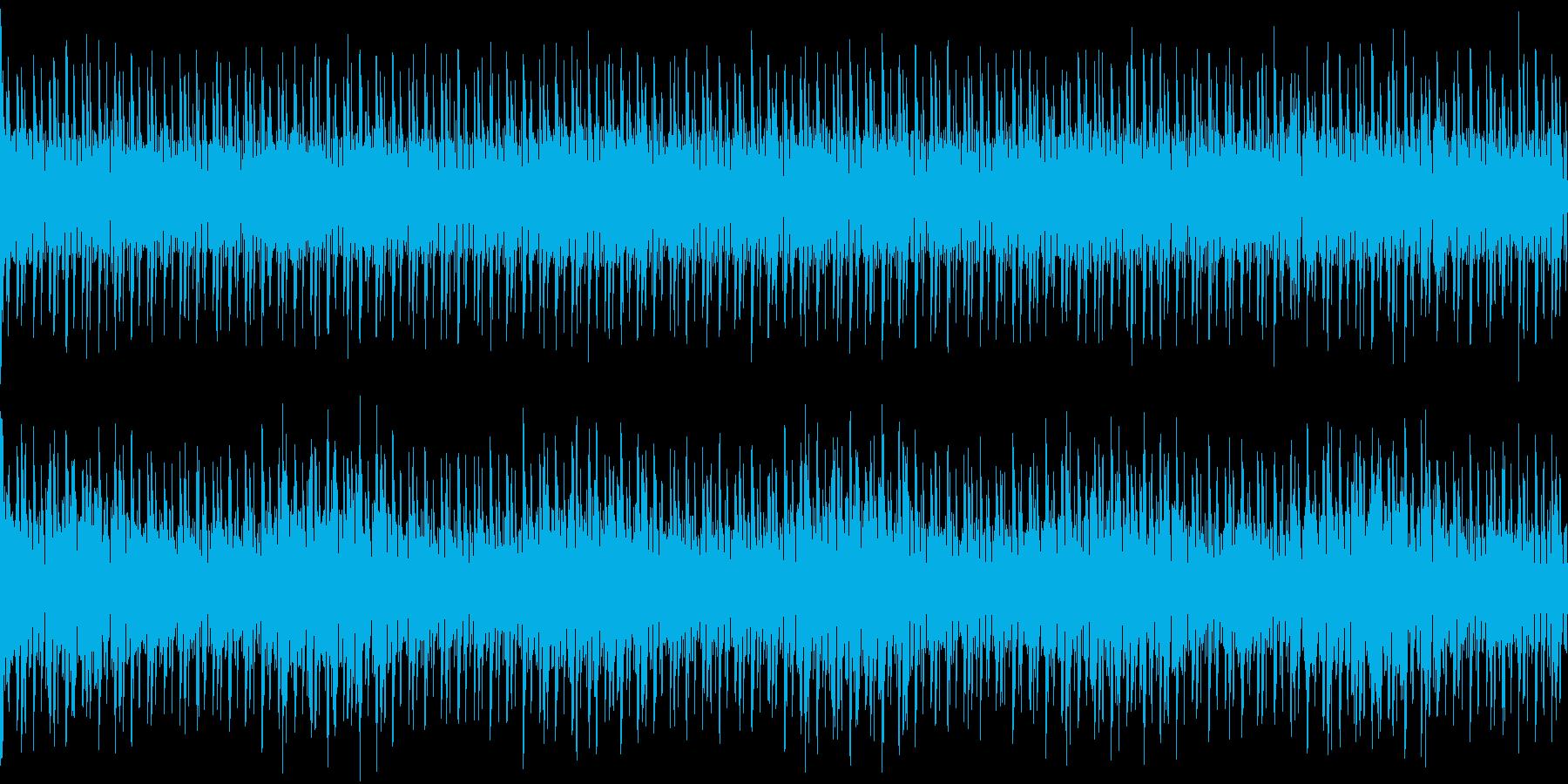 120bpm、ルートがBbなトランス調の再生済みの波形