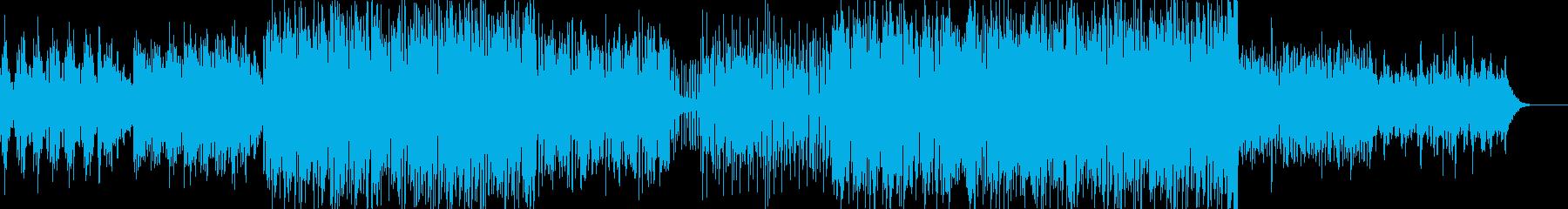 哀愁感のあるヒーリング系バラードの再生済みの波形
