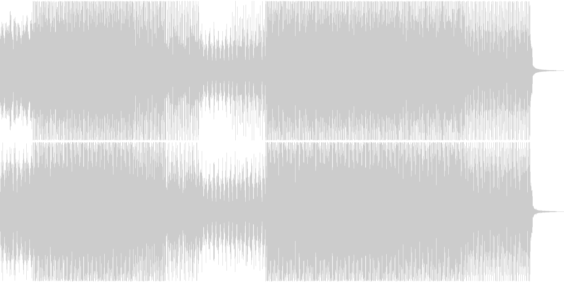 不思議 サイエンス 報道 ニュース 番組の未再生の波形