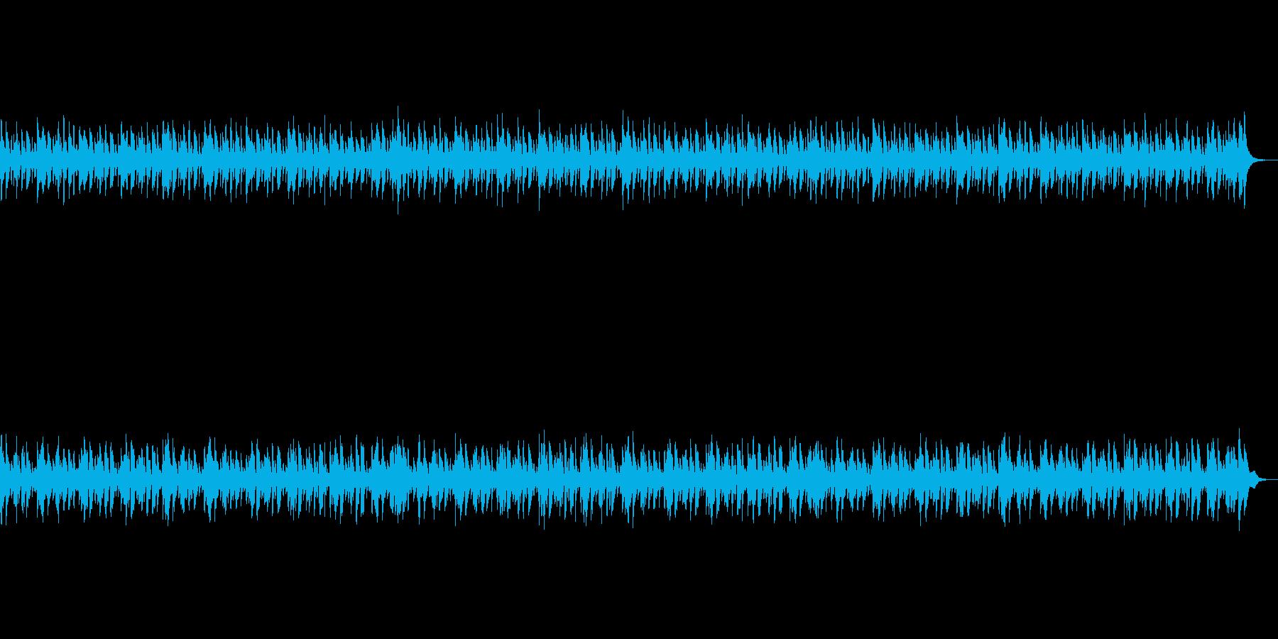 アニメ劇伴風:あれ?なにかがおかしいの再生済みの波形