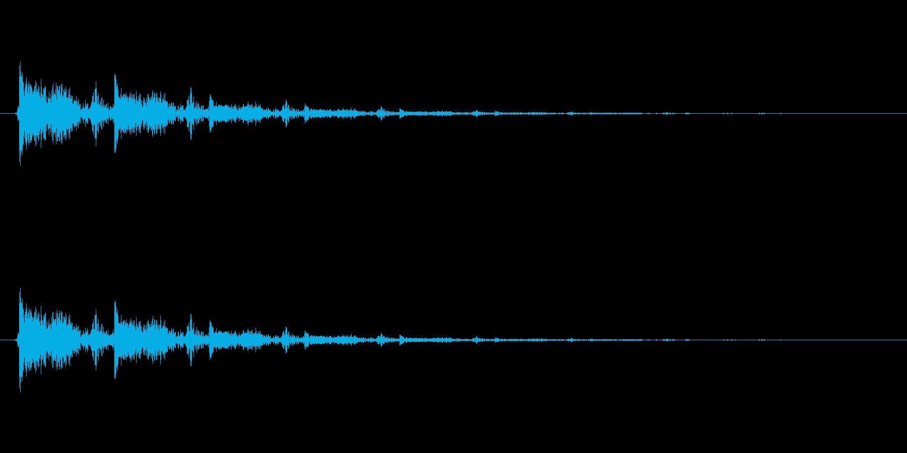【食べる01-3】の再生済みの波形