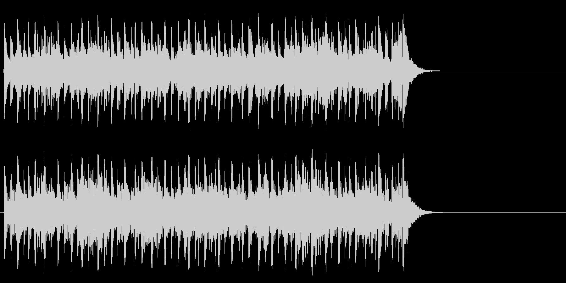 生き生きモータウンポップ(サビ)の未再生の波形