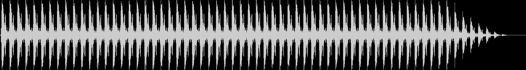 クリスマスの鈴(テンポ速い)の未再生の波形