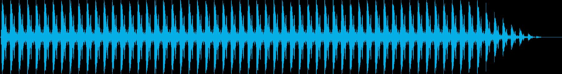 クリスマスの鈴(テンポ速い)の再生済みの波形