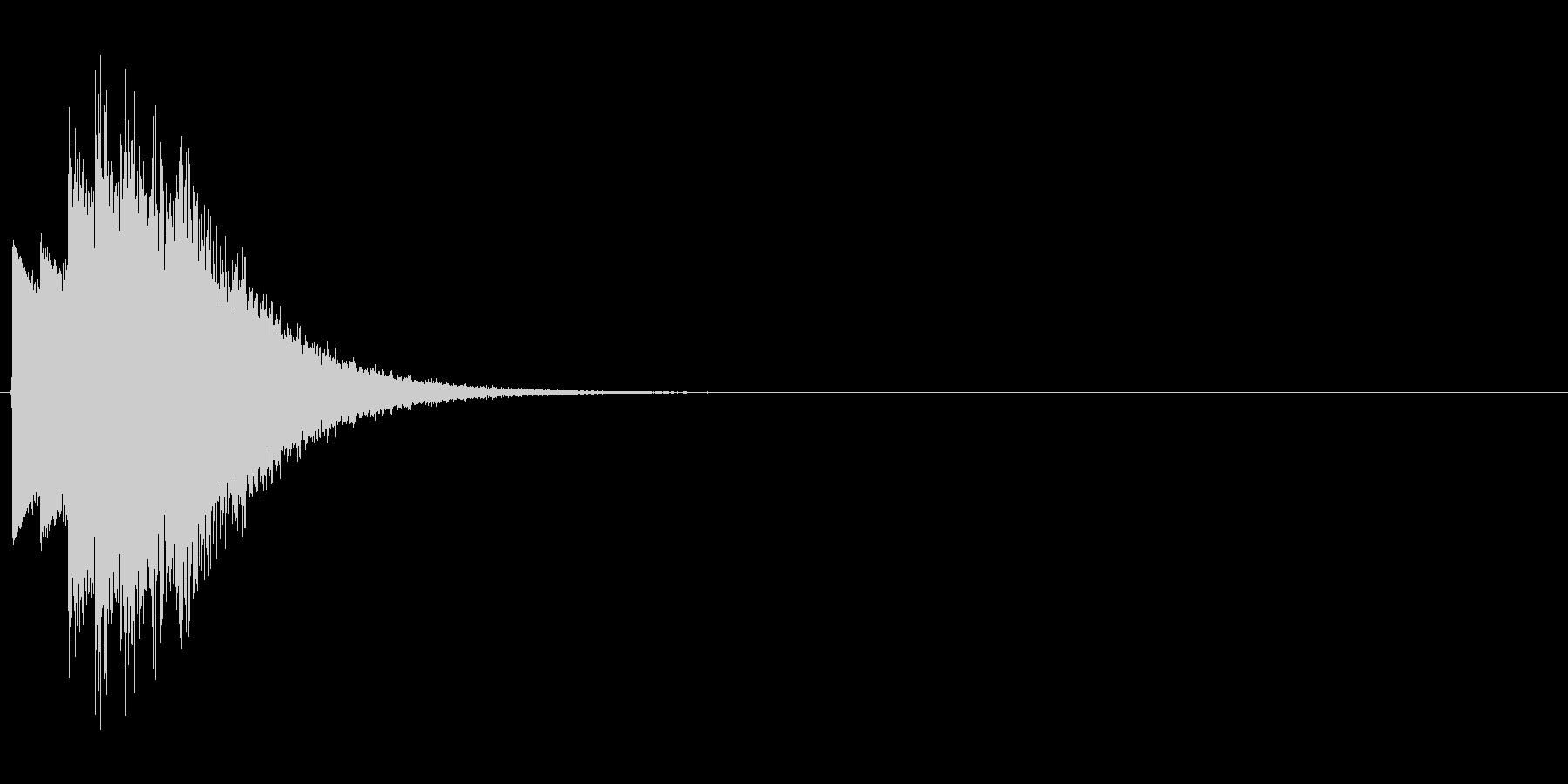 キラキラ...(星、決定、システム音)の未再生の波形