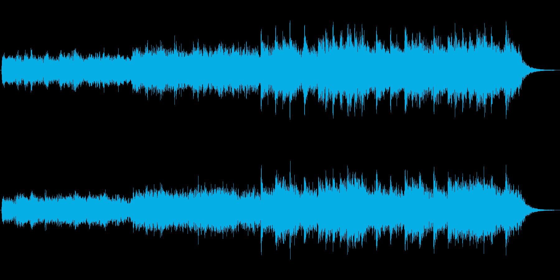 奇妙な中東風エスニックなジングルの再生済みの波形
