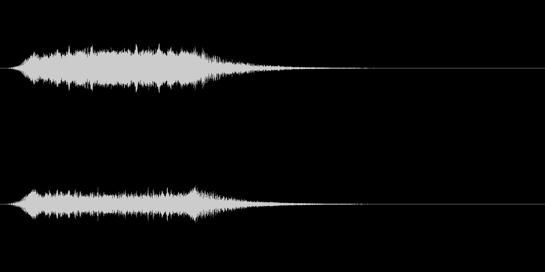 【ショートブリッジ06-2】の未再生の波形