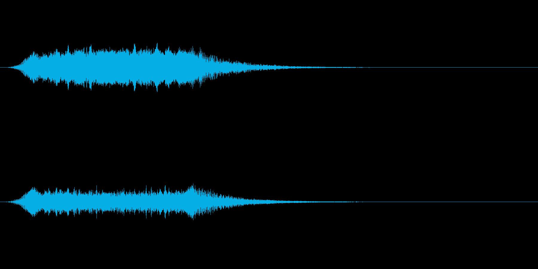 【ショートブリッジ06-2】の再生済みの波形