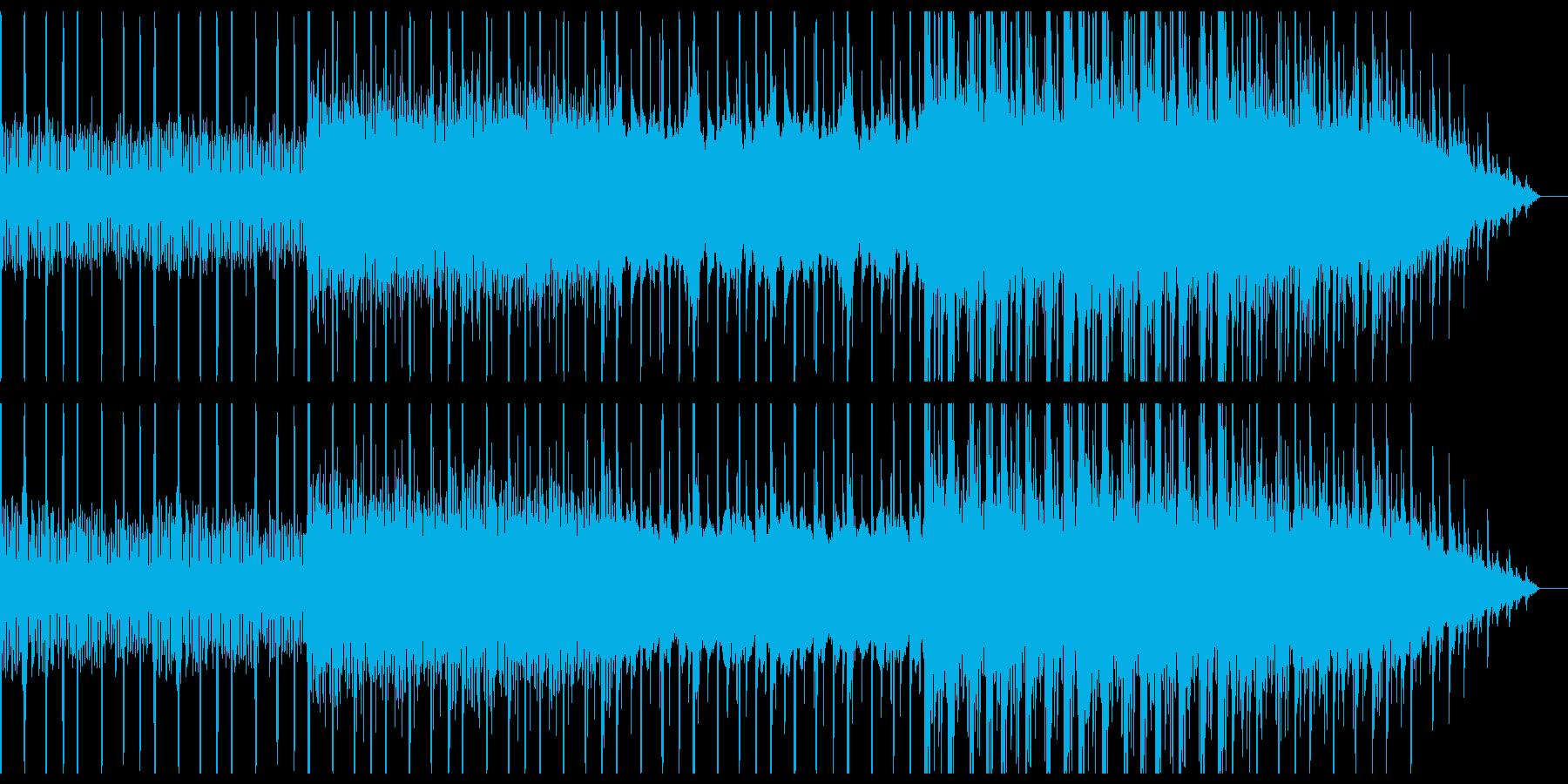 懐かしく切ないようなエレクトロニカの再生済みの波形