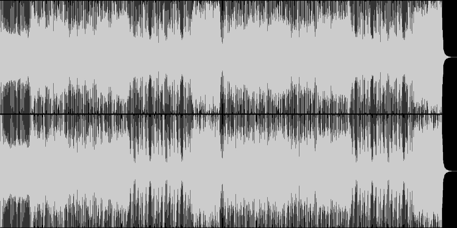ロック/激しい/重い/シンセ/派手の未再生の波形