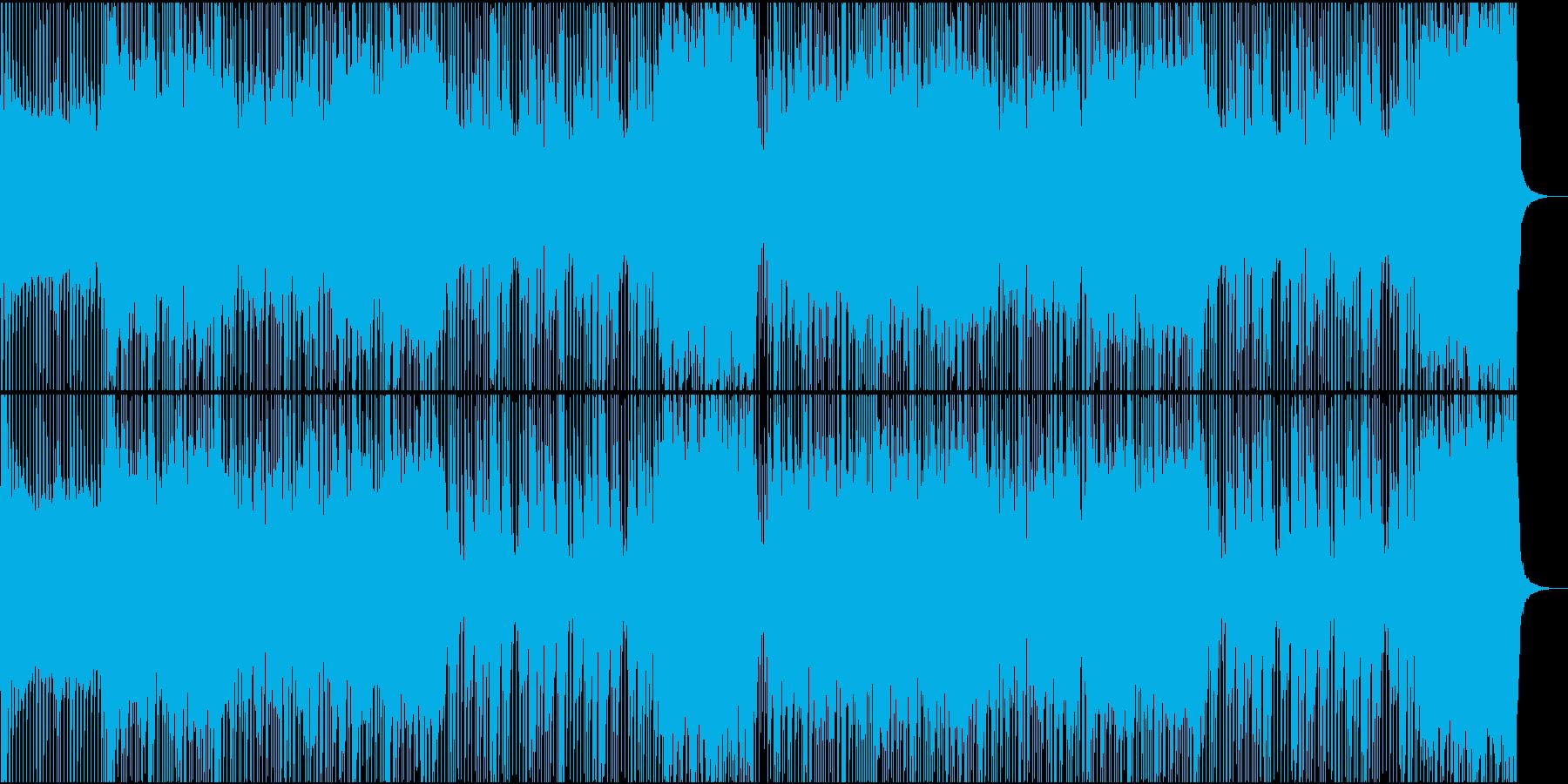 ロック/激しい/重い/シンセ/派手の再生済みの波形