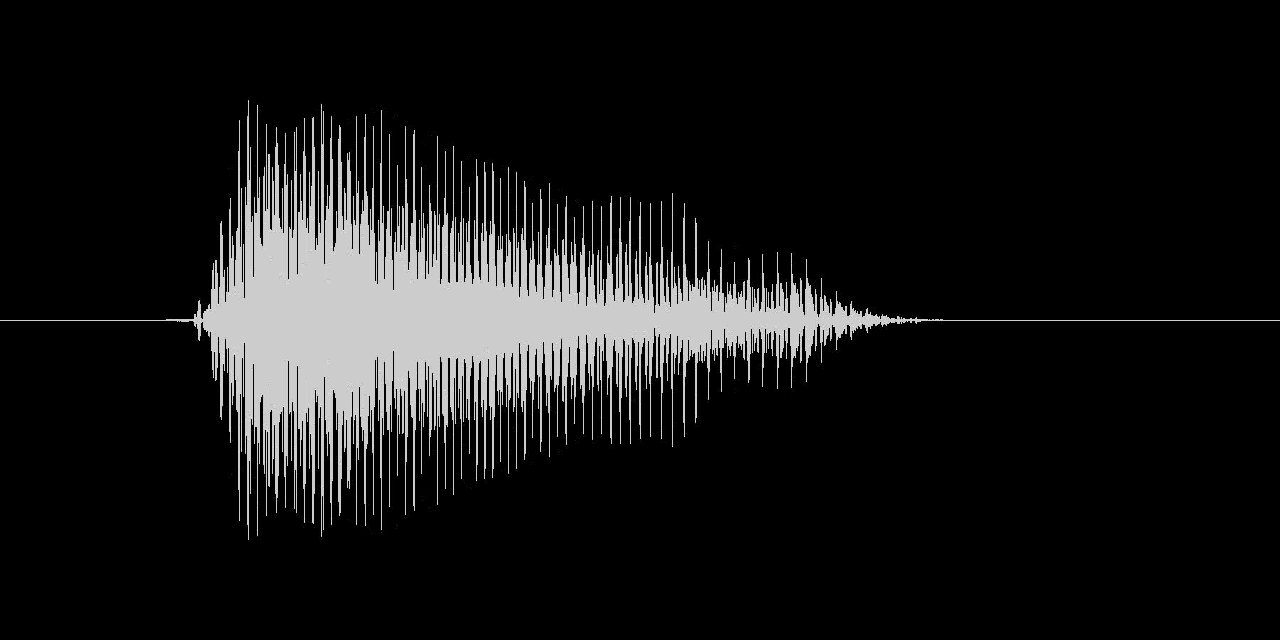 d,D,D(デー)の未再生の波形