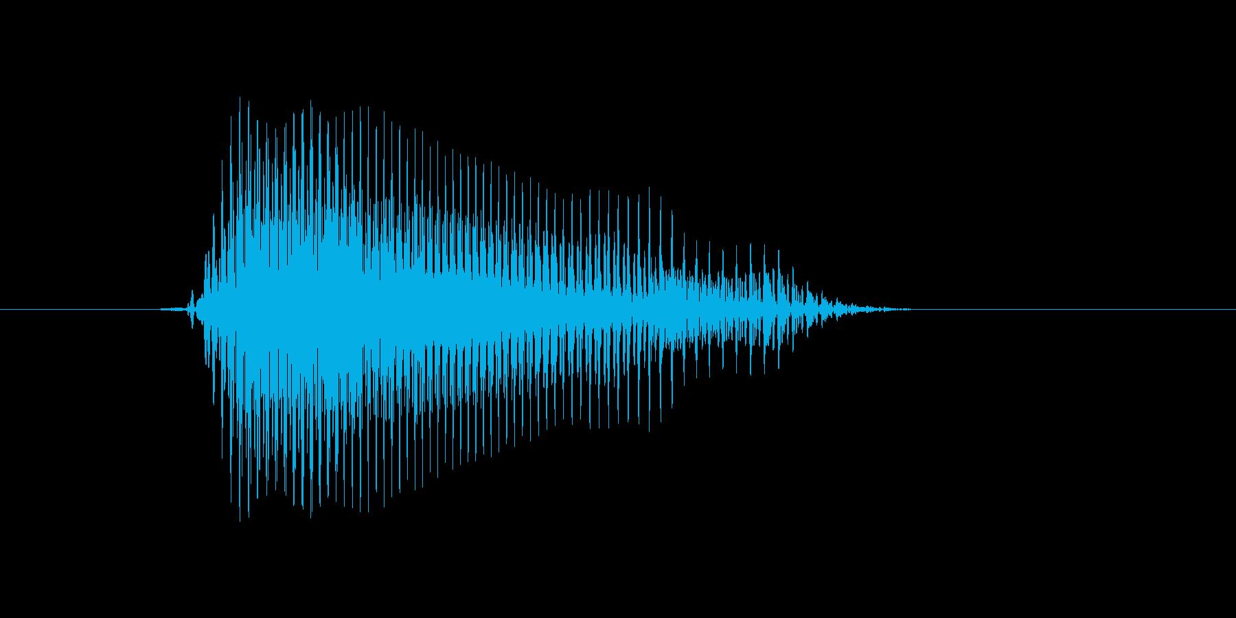 d,D,D(デー)の再生済みの波形