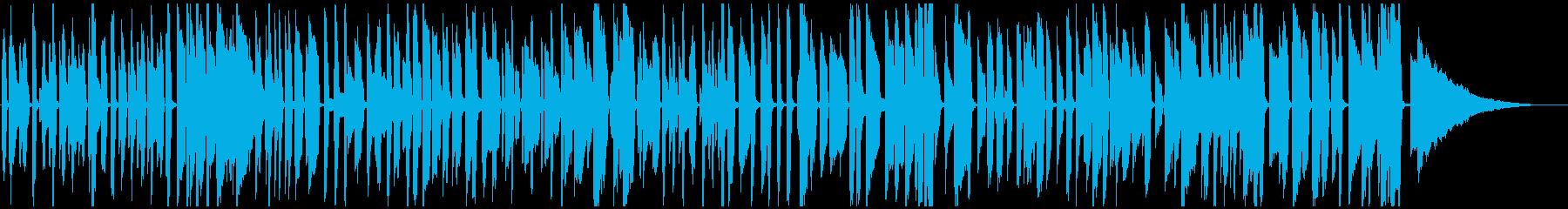 おしゃれピアノジャズ楽しい料理等(ソロ)の再生済みの波形