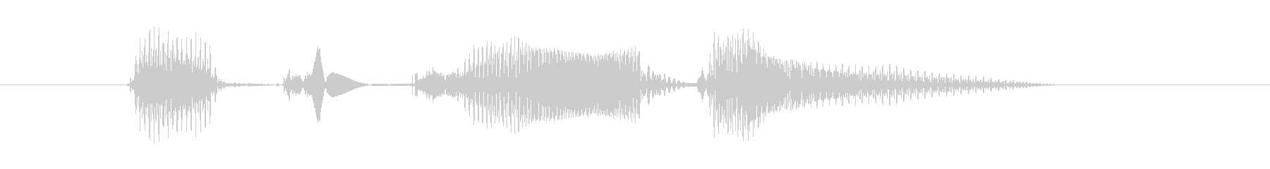 OCTOBER(オクトーバー・Octo…の未再生の波形