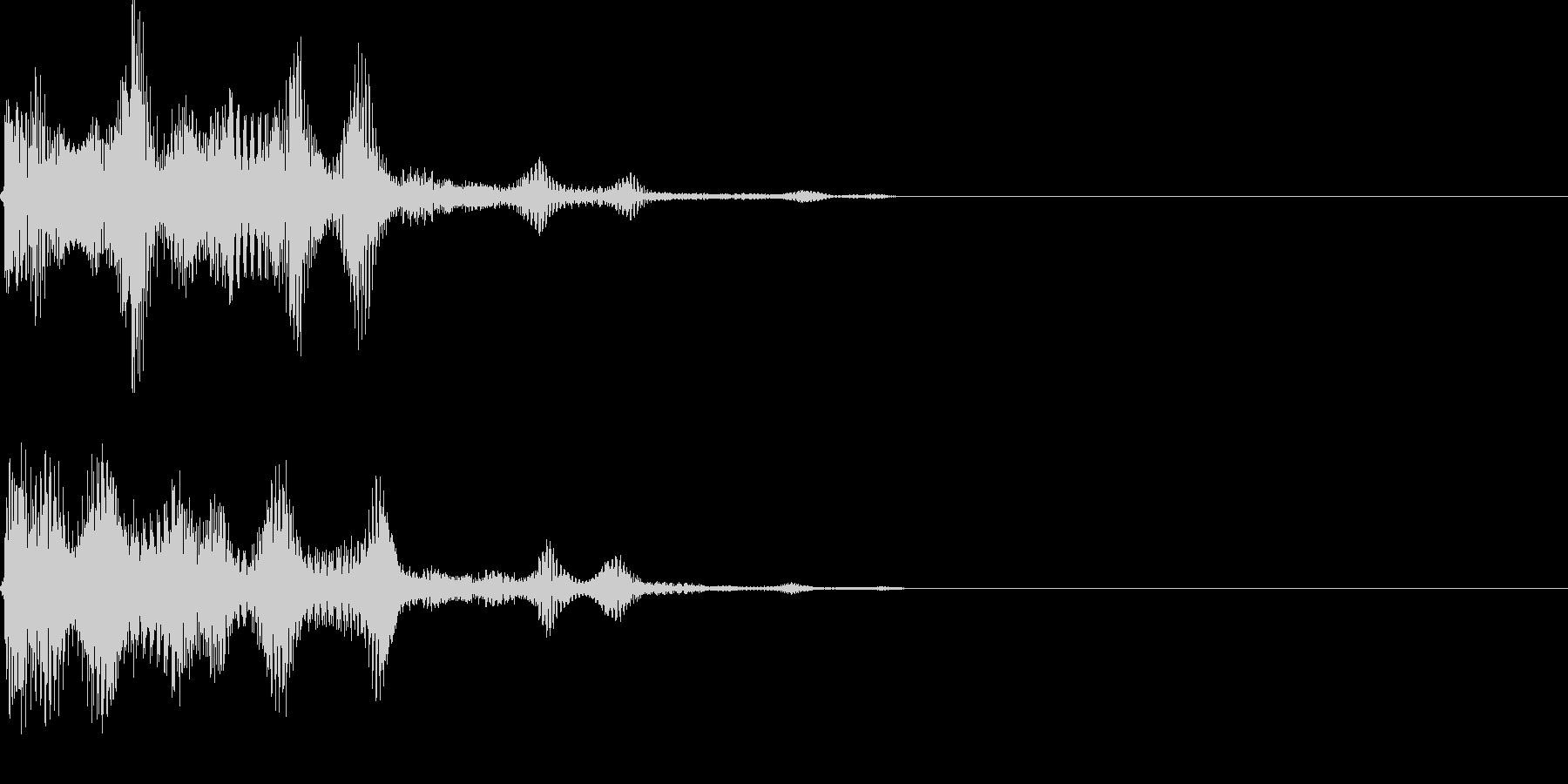 決定音31_シンセJの未再生の波形