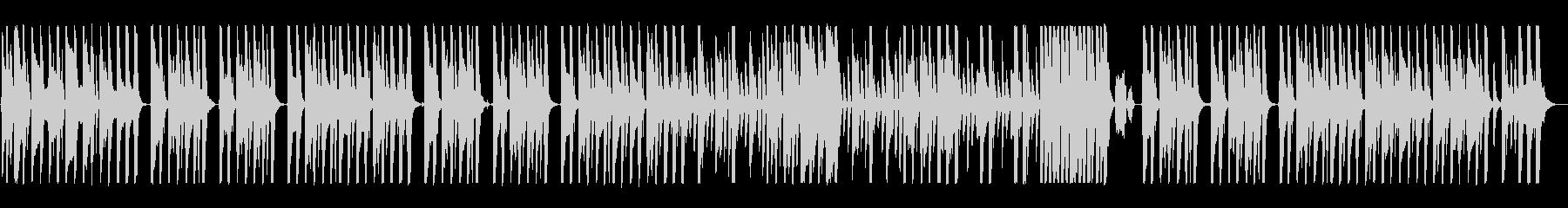 木琴混じりの明るい可愛いポップな曲の未再生の波形