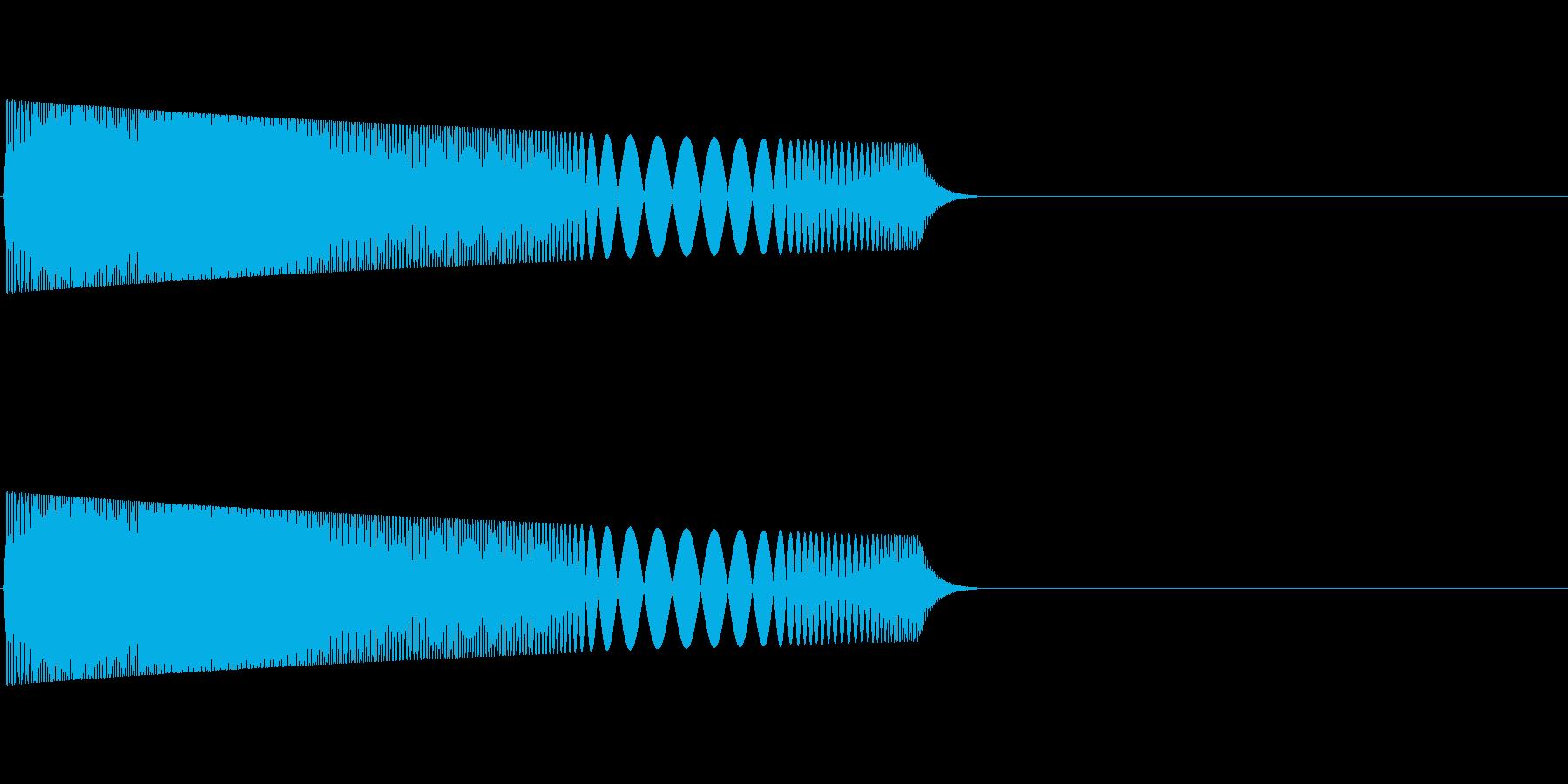 ピャプ:パズルゲームやタッチ音などにの再生済みの波形