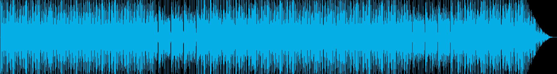 ワクワク感のシンセポップテクノ系サウンドの再生済みの波形