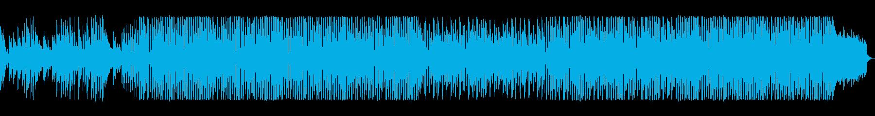 明るい楽しいエレクトロポップの再生済みの波形