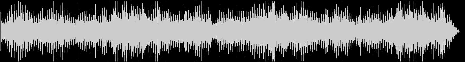 不気味な雰囲気のピアノの未再生の波形