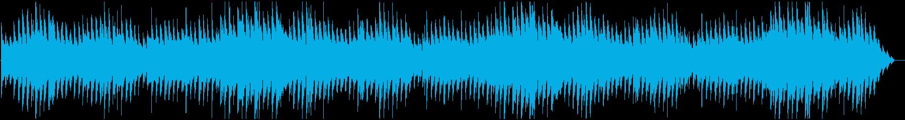 不気味な雰囲気のピアノの再生済みの波形