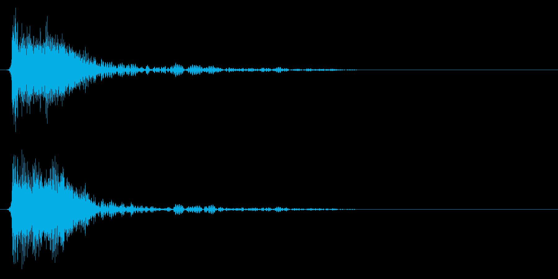 ジャン/クイズ/フリップボード/オケヒの再生済みの波形
