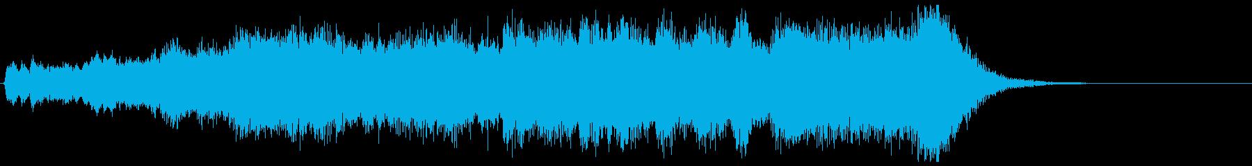 金管カノンが勇壮なフルオケジングル合唱付の再生済みの波形