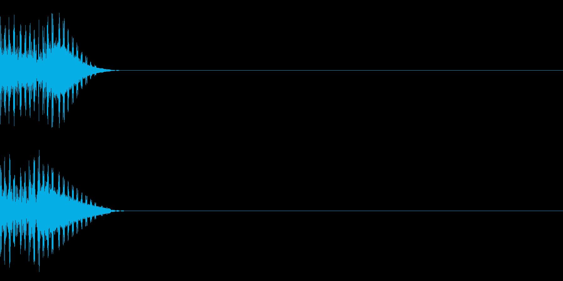 ドキュンの再生済みの波形