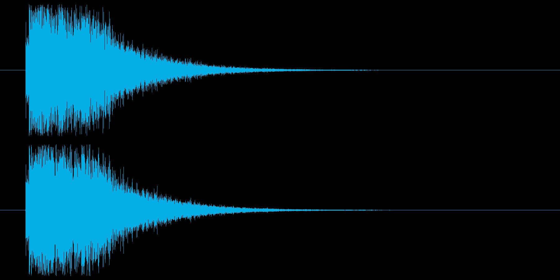 魔法起動_前兆の再生済みの波形