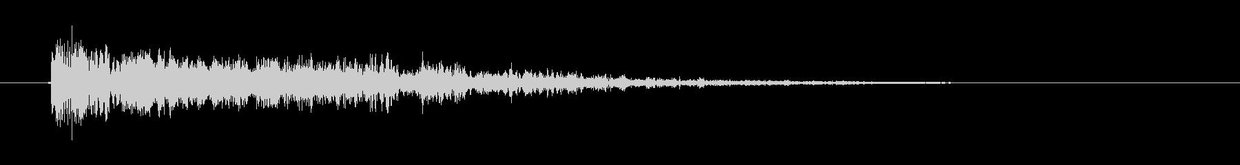 ビヨヨヨヨン(失敗、間違い、爆発音)の未再生の波形