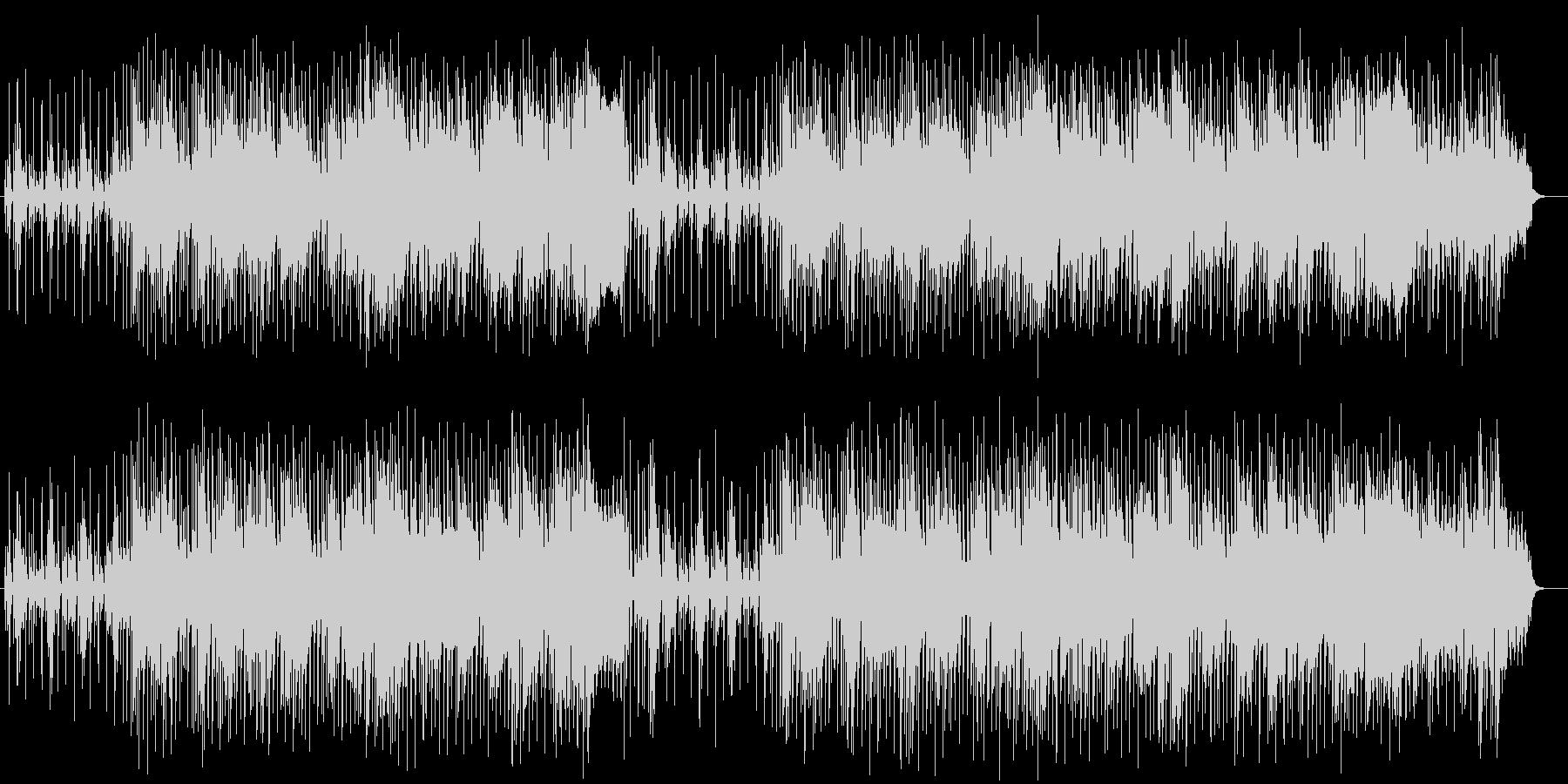 軽くてポップなミュージックの未再生の波形