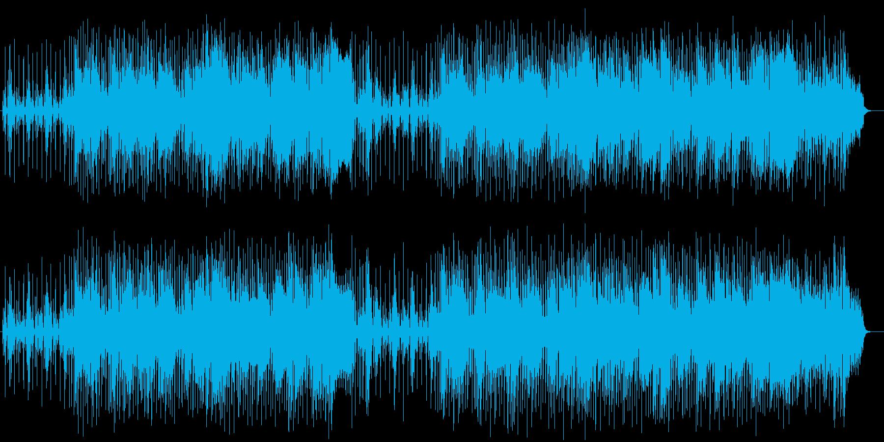 軽くてポップなミュージックの再生済みの波形
