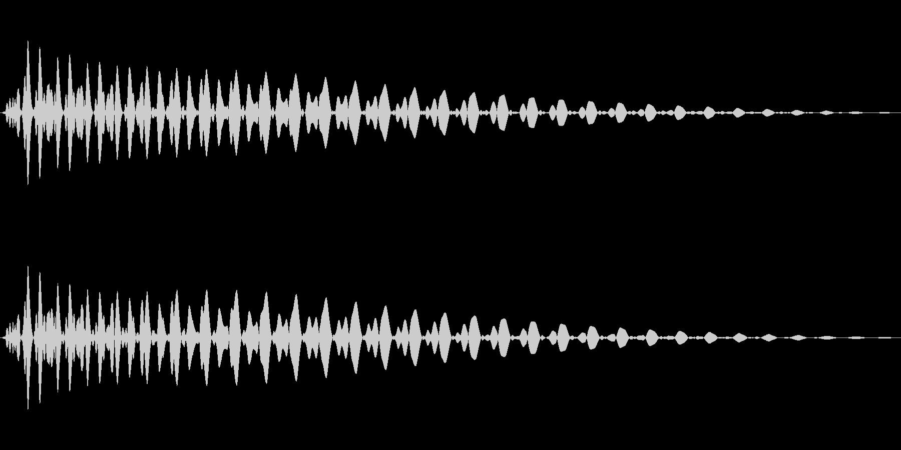 PureTouch アプリ用タッチ音72の未再生の波形