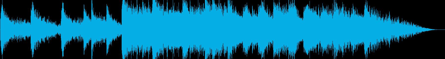 大地が割れる時【ピアノ曲・オープニング】の再生済みの波形