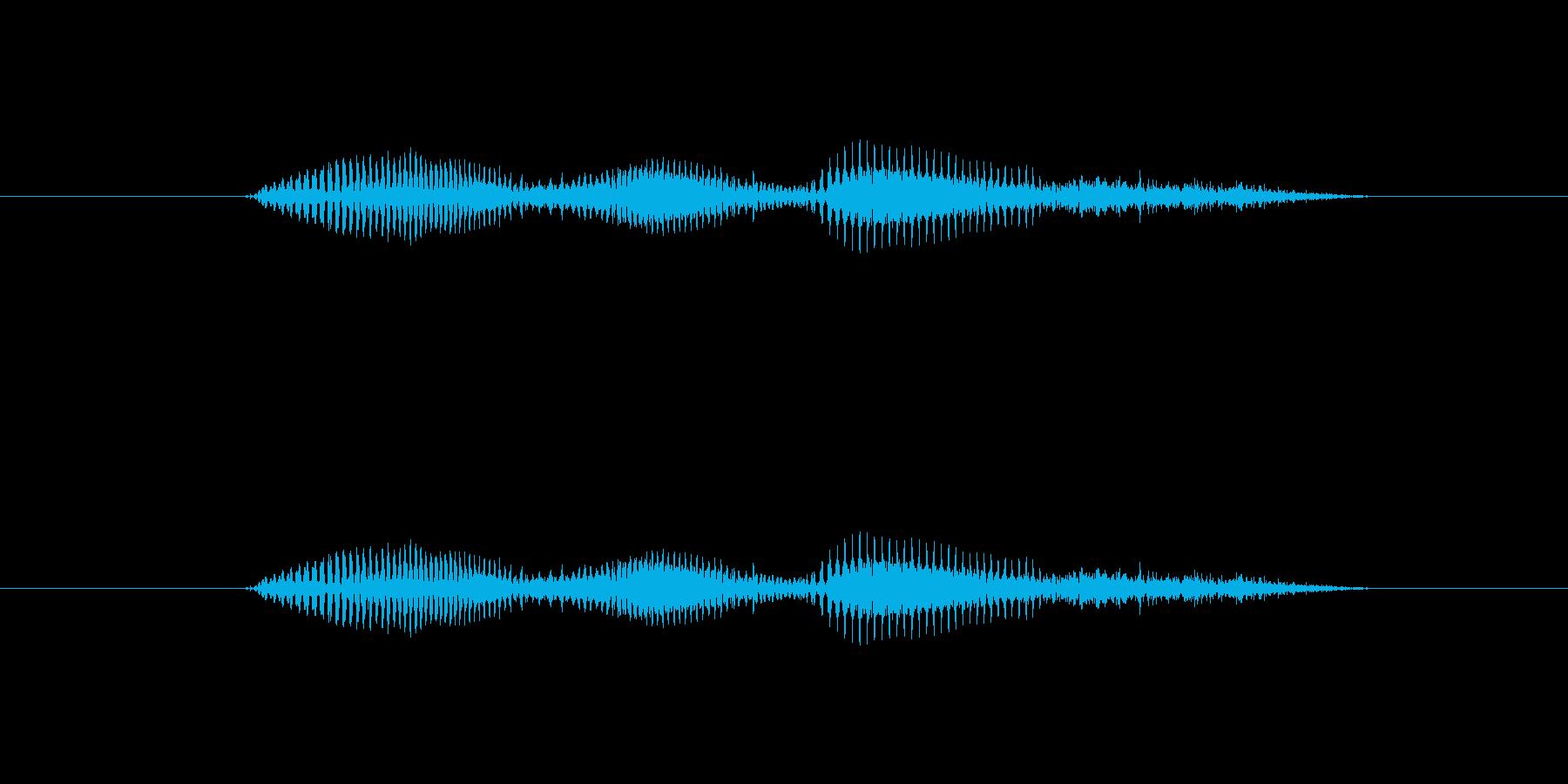 【時報・時間】2時ですの再生済みの波形