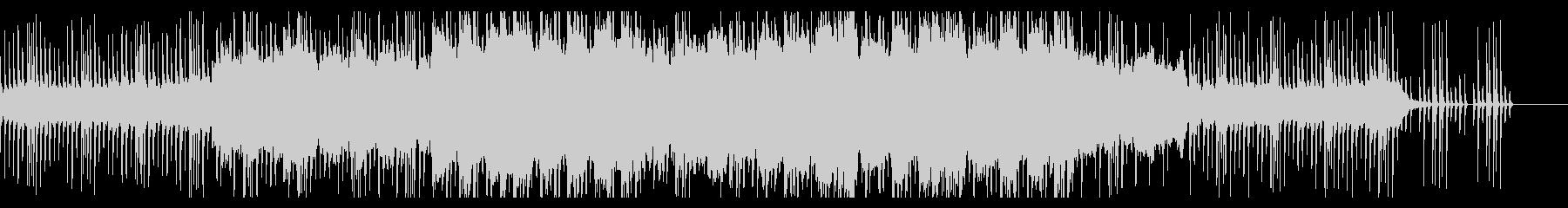 切ない尺八のメロディーの和風曲の未再生の波形
