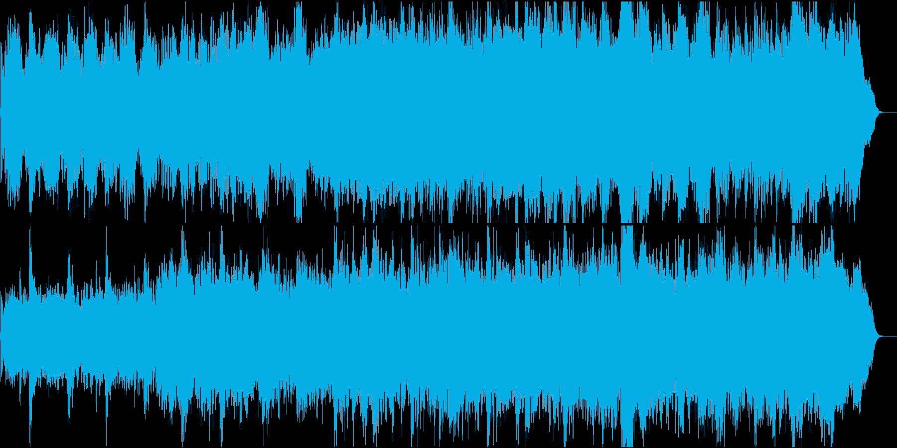 切なさを乗り越える感動オケ1全楽器フルの再生済みの波形