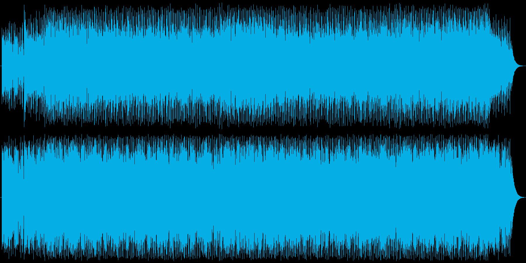 アップテンポでさわやかなウクレレポップスの再生済みの波形