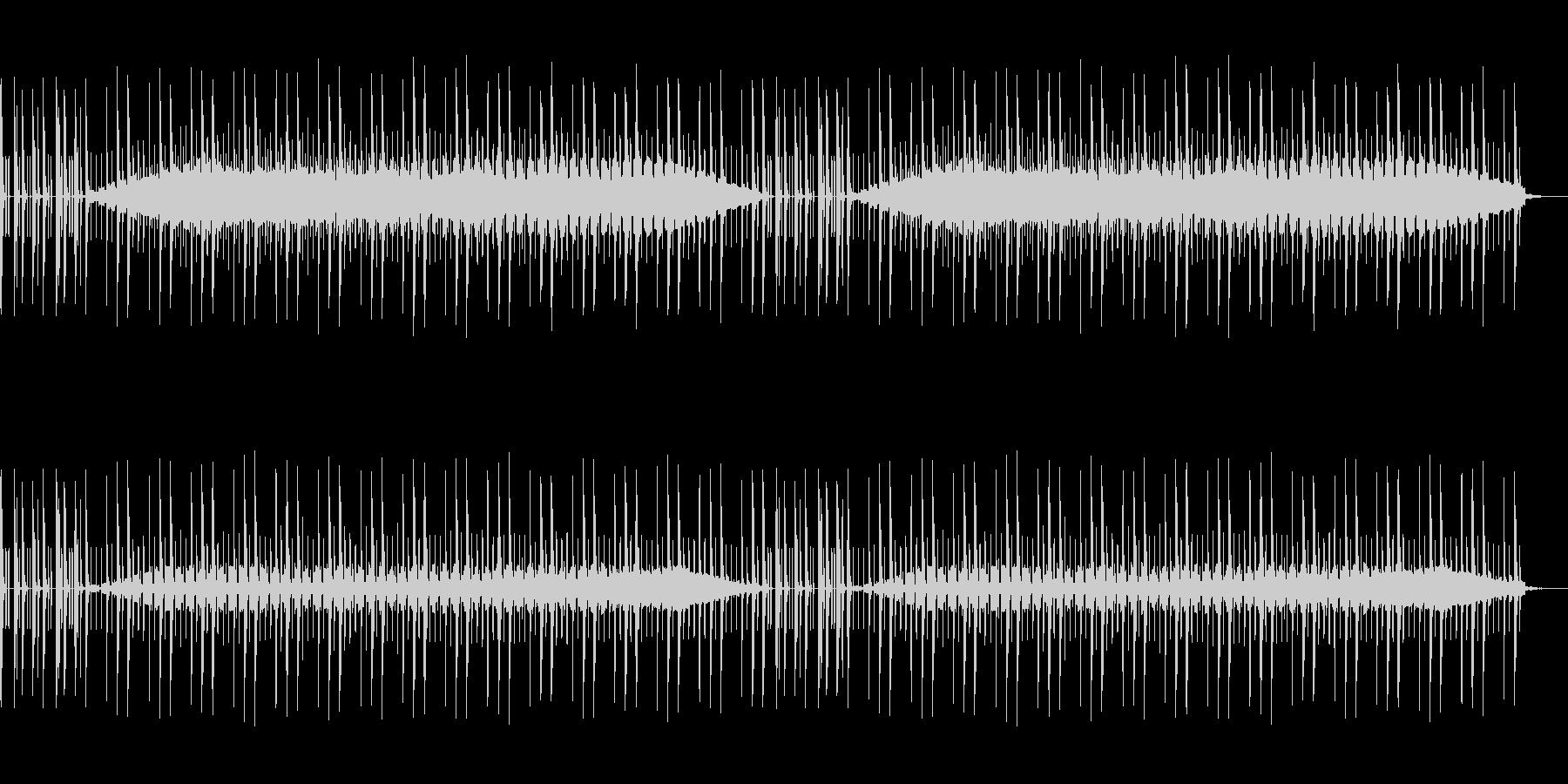 ニュースなどに使えるドラム主体のBGMの未再生の波形