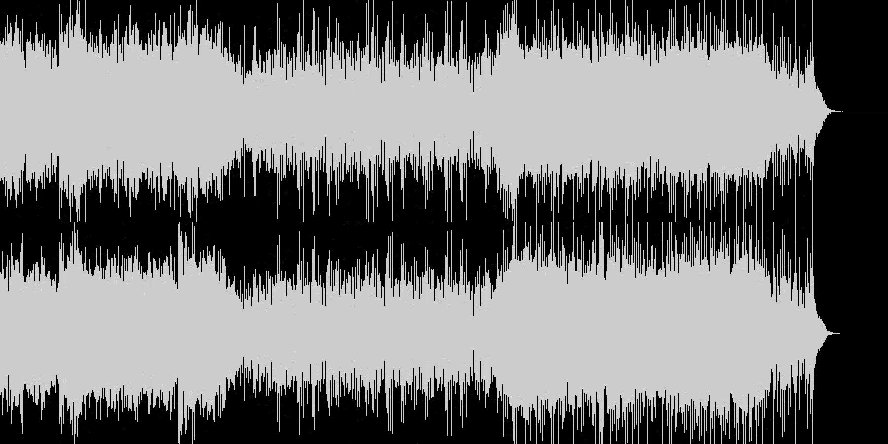 シンプルなアイドル系インストの未再生の波形