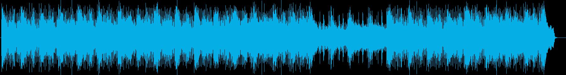 スピード感あるエレリトリックポップスの再生済みの波形