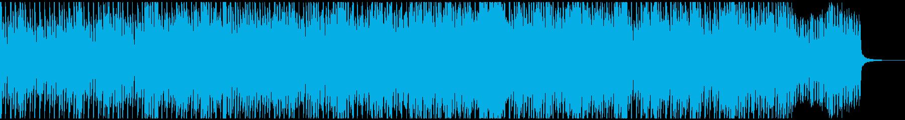 ベルとストリングスのキラキラしたポップスの再生済みの波形