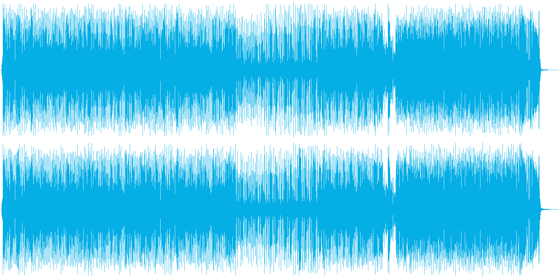 オールディーズ:ロカビリーの再生済みの波形