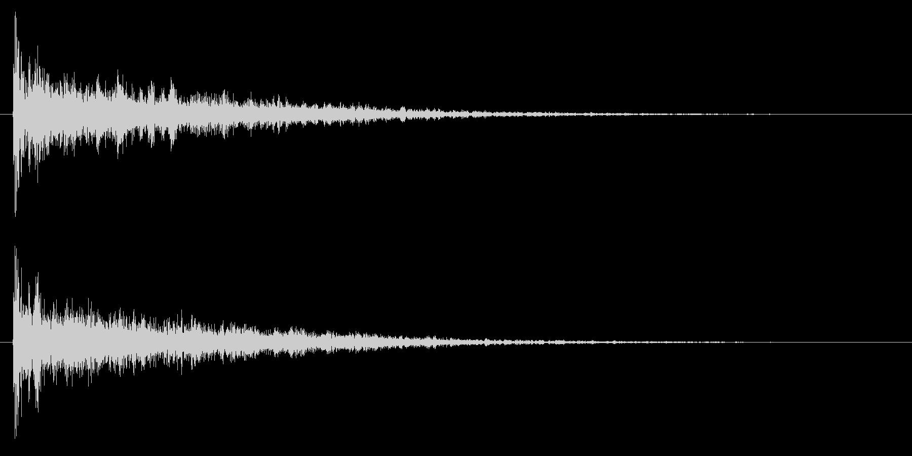 ドーン/映画/結果発表の未再生の波形