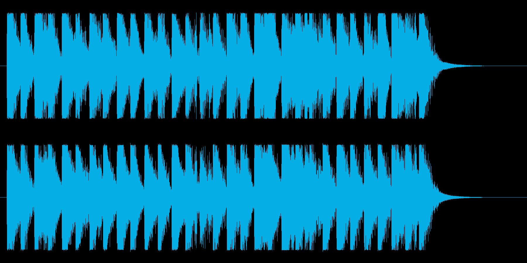 ハッピー&ポップ!明るいコーポレート♪の再生済みの波形
